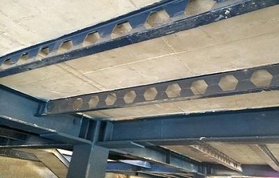 الیاف بتن در سقف کامپوزیت