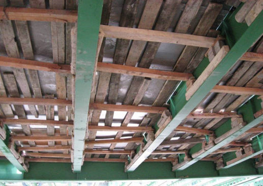الیاف بتن در سقف کاموزیت و دال بتنی